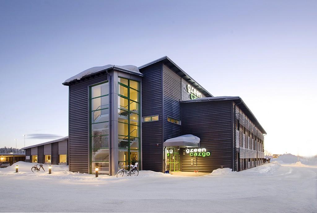 Arkitekturprojekt, Green Cargos kontor i Umeå