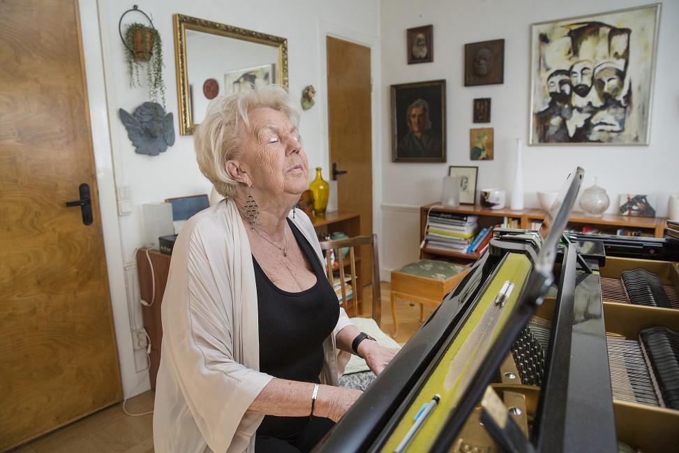 Birgit Lindberg, musiker och legend.