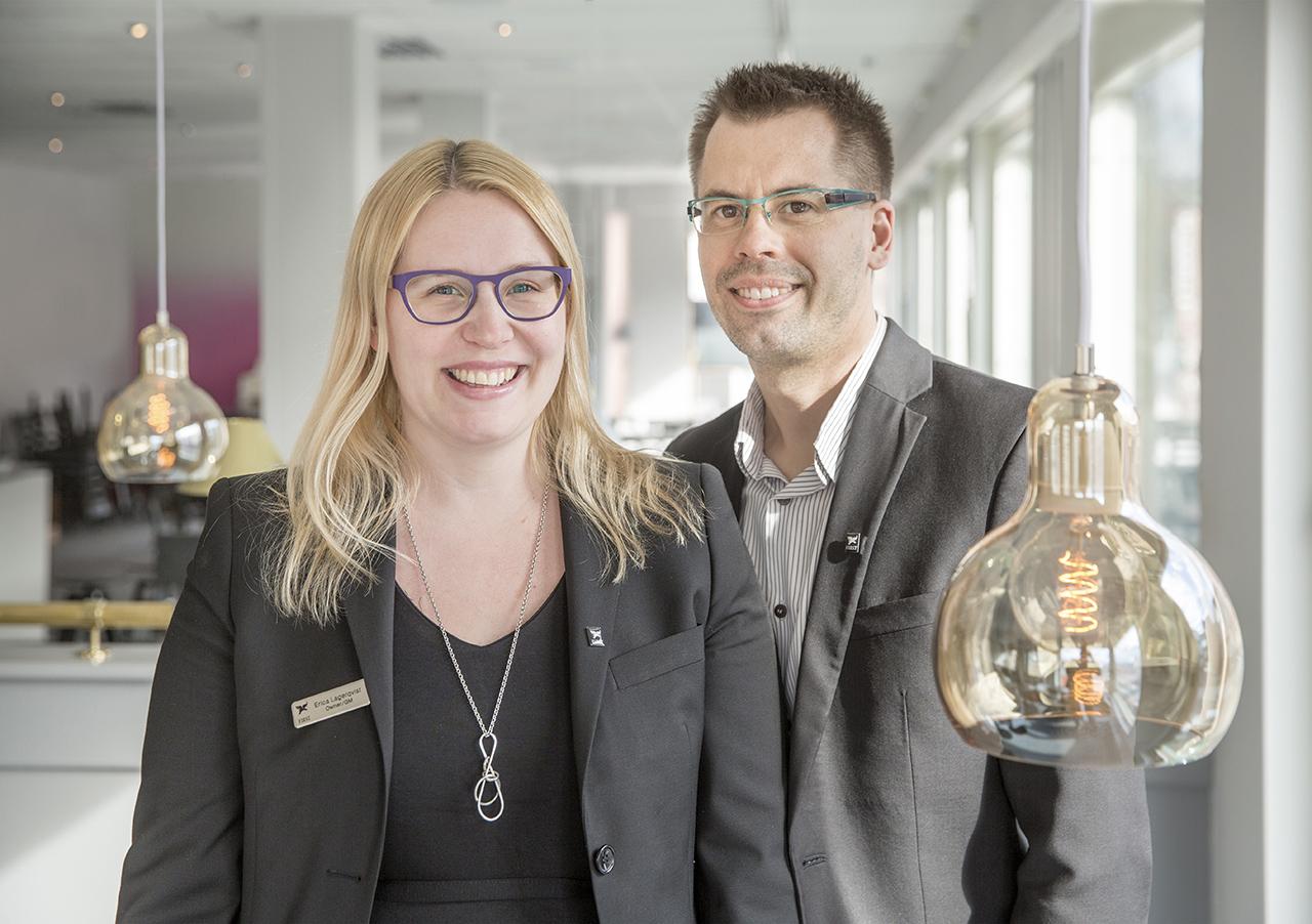 Erica och Linus Lagerqvist, Hotell Dragonen.